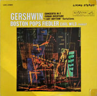 RCA LIVING STEREO LSC-2586 *SHADED DOG* GERSHWIN WILD  *1S/1S* EX/NM
