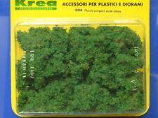 Cespugli verde  chiaro per plastico o diorama gr. 45 - Krea Modellismo 204