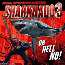 SHARKNADO 3: OH HELL NO Soundtrack CD Lakeshore ASYLUM Camper Van Beethoven NEW!