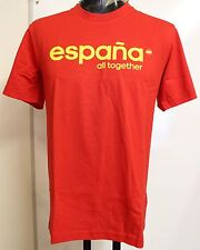 SPAIN GRAPHIC TEE SHIRT BY ADIDAS ADULTS SIZE SMALL BRAND NEW WITH TAGS