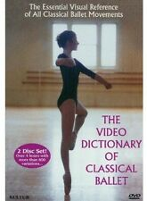 Video Dictionary of Classical Ballet (2003, DVD NUEVO)2 DISC SET (REGION 1)