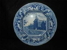 ANTIQUE STAFFORDSHIRE J & W RIDGWAY PEMBROKE HALL CAMBRIDGE SOUP PLATE