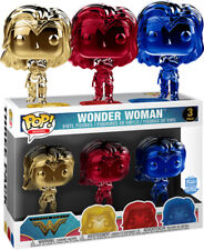 Wonder Woman (2017) - Wonder Woman Chrome Pop! Vinyl Figure Exclusive 3-Pack