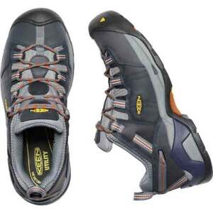 Keen Detroit Low midknight Navy/Hot Coral 9.5M