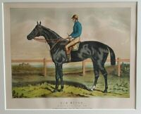 1880 Antique Horse Racing Print SIR BEVYS Derby Winner 1879 J Hayhoe G Fordham