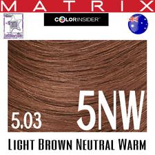 Matrix Color Insider 5nw (5.03) Warm Light Brown Natural Hair Colour 60g
