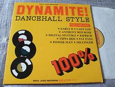 Dynamite Dancehall Style 2006 U.K. Soul Jazz DBL L.P. Set Tippa Irie Lady Saw EX
