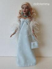 TINY KITTY Doll Clothes GOWN, BOA, PURSE & JEWELRY Handmade Fashion NO DOLL d4e