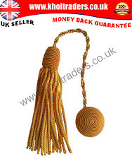 Cap Cords Tassels or Hat Cords Tassels For Cap using Gold Wire
