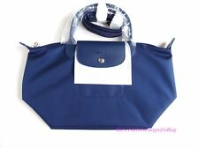 NWT Longchamp Le Pliage Neo Small Crossbody Satchel Tote Bag NAVY AUTHENTIC