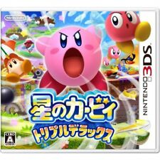 Very Good 3DS Kirby Triple Deluxe stars Import Japan