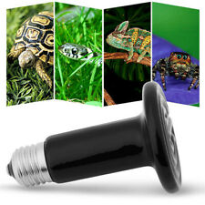100W Ceramic Heat Emitter Brooder Infrared Lamp Bulb Reptile Pet Coop Grow