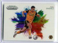 2020-21 Prizm EPL Soccer Raul Jimenez Color Blast SSSP Wolverhampton