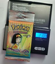 More details for gym heroes booster long crimp pack sealed heavy 21.00g wotc 2000