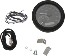 Dakota Digital Black MVX 140 Mph Tank Mounted Speedometer 11-19 Harley Softail