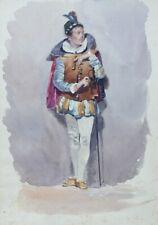 Kostüm Studie, Italien 1870 (5)
