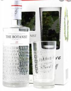 The Botanist Islay Dry Gin 22 - Geschenk Set mit Ritzenhoff Glas - Brandneu