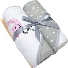 Baby Badetuch 2er Pack mit Flamingo