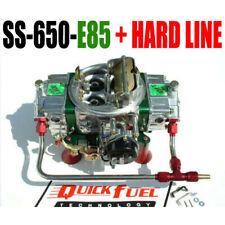 QUICK FUEL SS-650-E85  650 CFM E-85 FUEL MECH CARB WITH CHOKE & HARD LINE KIT