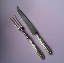 Fleischbesteck Besteck Silber 950 Minerva Frankreich Jugendstil