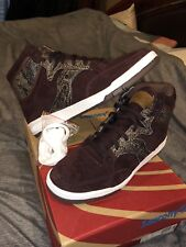"""PACKER SHOES x SAUCONY HANGTIME HI """"BROWN SNAKE"""" SIZE 11"""