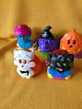 Happy Meal Halloween Mask Toys (5) 1998 McDonalds