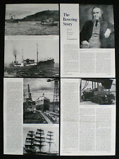 BOWRING BROTHERS LTD SHIPPING COMPANY SS EAGLE ELSINORE CANADA 4pp ARTICLE 1963
