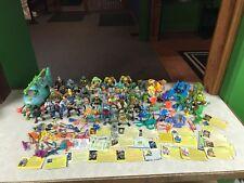 Vintage Playmates Teenage Mutant Ninja Turtle TMNT 1980's Figure Parts Lot RARE