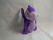 "Neopets 2008 Jakks Purple Scorchio Dragon Bean Bag Plush 5 1/2"""