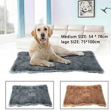 Large Medium  Dog Cat Puppy Blanket Pet Soft Fluffy Blanket Cosy Warm Throw Mat