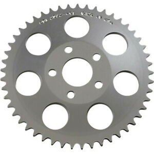 "PBI Aluminum Rear Drive 49 Tooth .22"" Offset Sprocket Harley 1973-1986 Big Twin"
