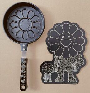 Takashi Murakami Designed Flower Pancake Frying Pan With flower parent and child