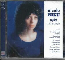 RARE DOUBLE CD 50 TITRES NICOLE RIEU BARCLAY 1974-1979 BEST OF 2018 NEUF SCELLE