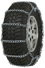 265/75-16 265/75R16 Tire Chains 5.5mm Link Cam Snow Traction SUV Light Truck Ice