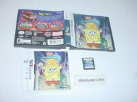 SPONGBOB ATLANTIS SQUAREPANTIS game complete in case w/ manual - Nintendo DS