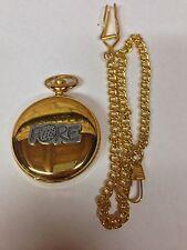 """Golf """"fore"""" Effet Étain Emblème Sport sur une montre de poche Quartz Gold"""