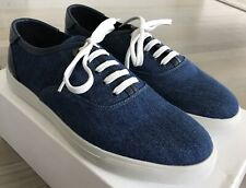 Moncler Denim Sneakers Sneakers size US 9, Made in Portugal