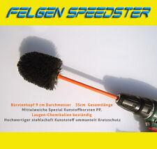 FELGEN-Speedster PROFI WASCH BÜRSTE REINIGER AUFSATZ AKKU ALUFELGEN SOFT LANG