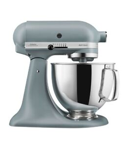 KITCHEN-AID ARTISAN 4.8 LTR STAND MIXER GREY+EXTRAS WORTH  £100+BOXED_SELL £350!