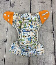 Ecoable All In Ine Cloth Diaper Science Robot