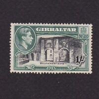 GIBRALTAR 1938, Sc# 114b, CV $45, Perf 13.5, 'George VI', architecture, MH
