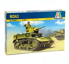Italeri 6498 M3A1 Light Tank 1/35 plastic scale model kit