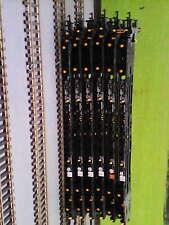 RAKE OF 6 x BACHMANN ITERMODAL WAGONS (BLACK) Lot1.