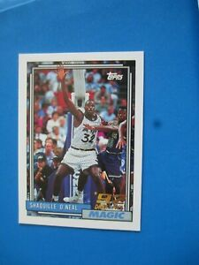 SHAQUILLE O'NEAL - 1992/93 Topps  Rookie card