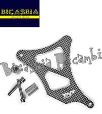 8757 - CARTERINO COPRI PIGNONE AM6 ALLUMINIO CNC CARBON LOOK ANODIZZATO
