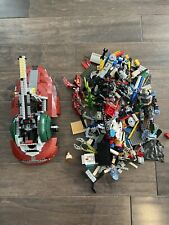 Lego 75060 Star Wars UCS Slave 1 (USED & INCOMPLETE) And Other Lego Pieces.