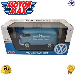 Diecast Model Car 1:24 Volkswagen Porschewagen 79556 Motor Max American Boxed