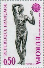 FRANCE - 1974 - Art Sculpture - C.E.P.T.- The Age of Bronze by Rodin - Sc. #1399