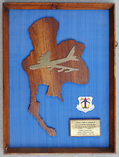 Wartime B-52 Bomber Squadron Plaque 4259 Strategic Wing