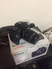 Canon EOS 1300D 18 Mp Cámara Digital Réflex - Negra + objetivo efsII